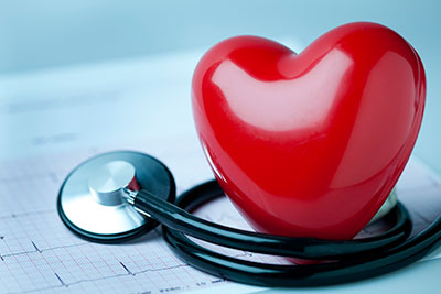 image of heart and stethoscope